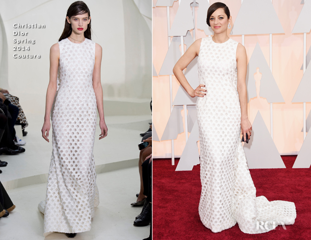 Marion Cotillard In Christian Dior Couture - 2015 Oscars_