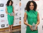 Tessa Thompson In Reem Acra - 6th Annual AAFCA Awards