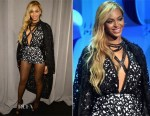 Beyonce Knowles In Laquan Smith - Tidal Launch Event