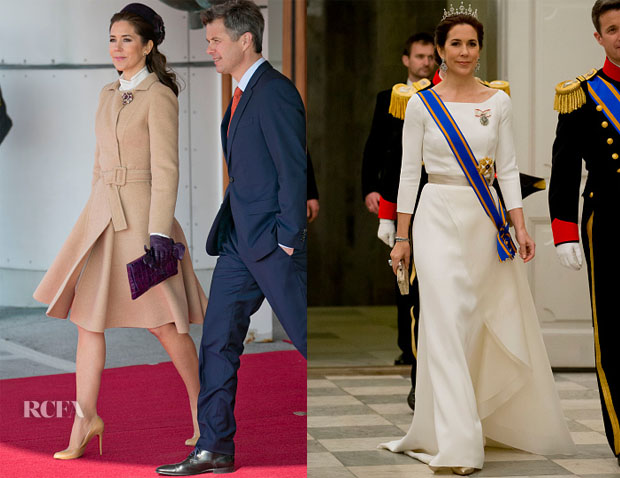 Crown Princess Mary of Denmark - Queen Maxima and King Willem-Alexander of The Netherlands Visit Denmark