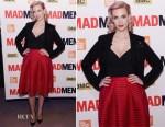 January Jones In Maje - 'Mad Men' New York Screening