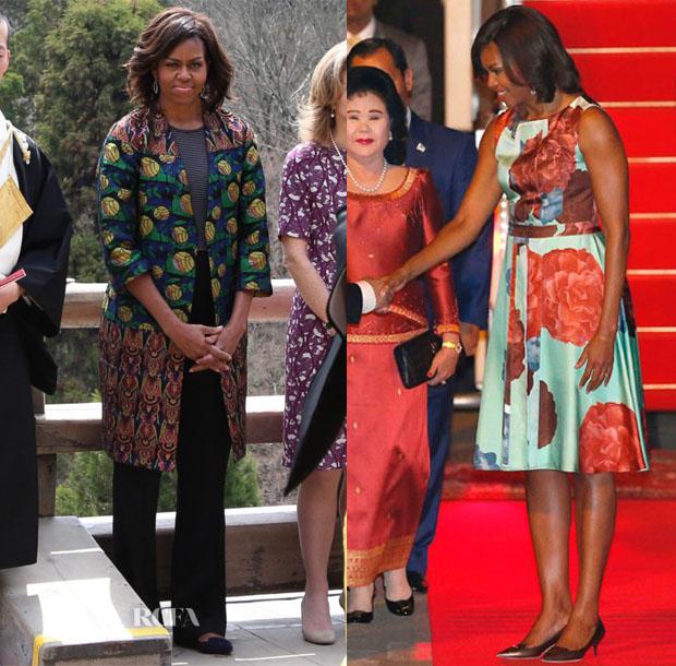 Michelle Obama's Five-Day Tour Of Asia 2
