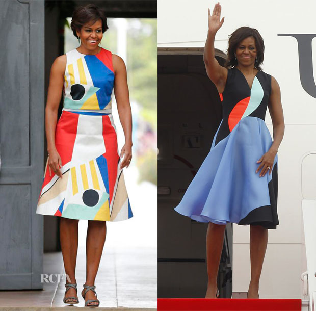 Michelle Obama's Five-Day Tour Of Asia 3