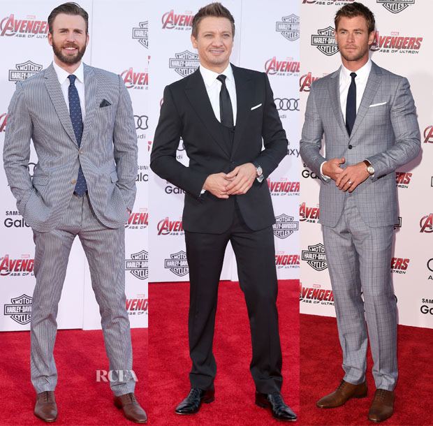 'Avengers Age Of Ultron' LA Premiere Menswear Roundup