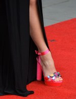 Pixie Lott's Sophia Webster 'Nicole Amanda' gem sandals