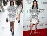 Jennifer Connelly In Louis Vuitton - 'Aloft' Tribeca Film Festival Premiere