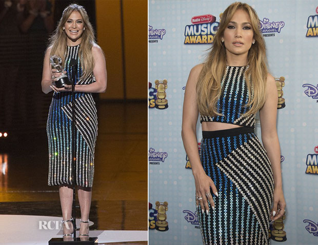 Jennifer Lopez In David Koma - 2015 Radio Disney Music Awards