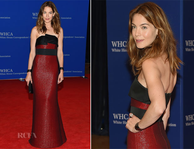 Michelle Monaghan In Prabal Gurung - 2015 White House Correspondents' Association Dinner