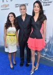Amal Clooney In Antonio Berardi - 'Tomorrowland' LA Premiere