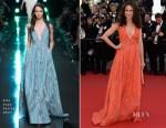 Andie MacDowell In Elie Saab - 'Inside Out' Cannes Film Festival Premiere