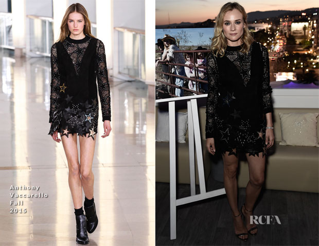 Diane Kruger In Anthony Vaccarello - Event SKY With Jaeger-LeCoultre