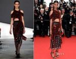 Liya Kebede In Proenza Schouler - 'Mad Max: Fury Road' Cannes Film Festival Premiere