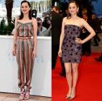 Marion Cotillard In Ulyana Sergeenko Demi Couture & Christian Dior Couture - 'Macbeth' Cannes Film Festival Photocall & Premiere