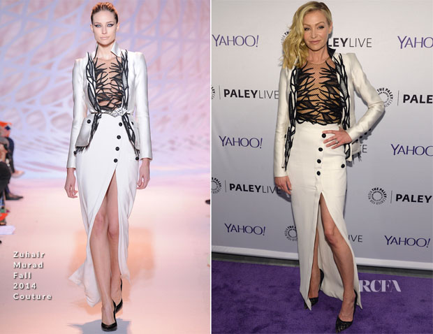 Portia de Rossi In Zuhair Murad Couture - The Paley Center For Media Presents An Evening With The Cast Of 'Scandal'