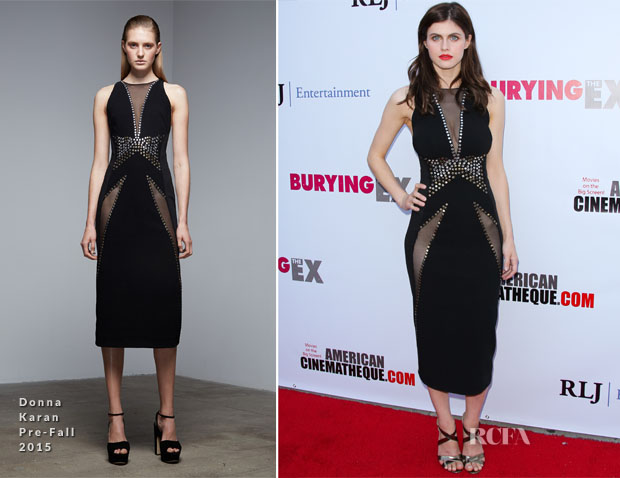 Alexandra Daddario In Donna Karan - 'Bury The Ex' LA Screening