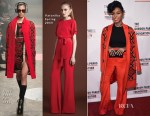 Janelle Monae In Tracy Reese & Vatanika - 2015 Gordon Parks Foundation Awards Dinner