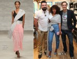 Solange Knowles In Tome - Kiehl's x Solange Partnership Launch Breakfast