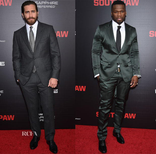 'Southpaw' New York Premiere Menswear Red Carpet Roundup