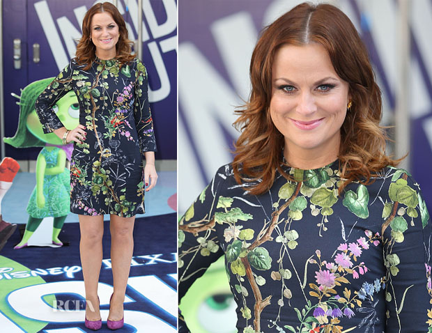 Amy Poehler In Philosophy - 'Inside Out' London Screening