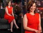 Emilia Clarke In A.L.C. - Jimmy Kimmel Live