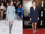 Dakota Johnson In Christian Dior - HFPA Annual Grants Banquet