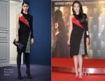 Shu Qi In Versace - 'The Assassin'  Hong Kong Photocall