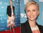 Charlize Theron In Zimmermann & Smythe - 2015 Social Good Summit