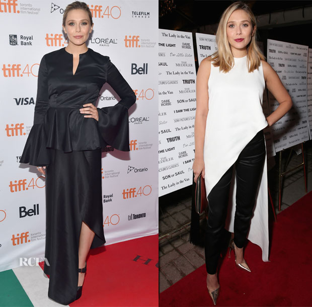 Elizabeth Olsen In Juan Carlos Obando - 'I Saw The Light' Toronto Film Festival Premiere & HFPAInStyle's Annual TIFF Party