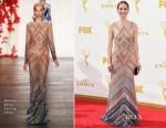 Ellie Kemper In Naeem Khan - 2015 Emmy Awards