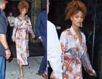Rihanna In Dries Van Noten - Sonya Benson's New York Nuptials