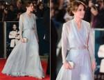 Catherine, Duchess of Cambridge In Jenny Packham - 'Spectre' London Premiere