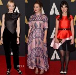 Academy Of Motion Picture Arts And Sciences' 7th Annual Governors Awards Red Carpet Roundup