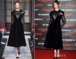 Alba Rohrwacher In Schiaparelli Couture - 'In Treatment 2' Rome Premiere