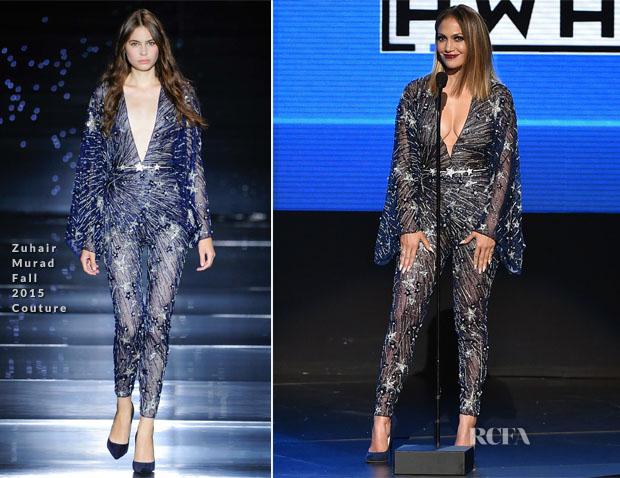 Jennifer Lopez in zuhair murad couture amas