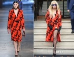 Lady Gaga In Christopher Kane - Out In London