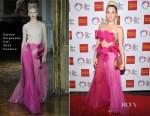 Miley Cyrus In Ulyana Sergeenko Couture - 46th Anniversary Gala Vanguard Awards