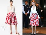 Bella Thorne In CH Carolina Herrera - Live! With Kelly and Michael