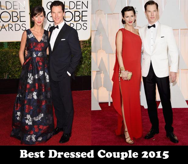 Best Dressed Couple 2015 - Benedict Cumberbatch & Sophie Hunter