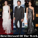 Best Dressed Of The Week - Daisy Ridley In Chloe, Teresa Palmer In Prada & Bradley Cooper in Thom Sweeney