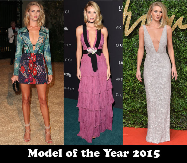 Model of the Year 2015 – Rosie Huntington-Whiteley