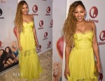 Meagan Good In Maria Lucia Hohan -  Lifetime's 'Love By The 10th Date' Screening and Panel