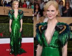 Nicole Kidman In Gucci - 2017 SAG Awards