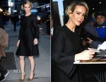 Sarah Paulson In Co - The Late Show With Stephen Colbert