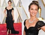 Alicia Vikander In Louis Vuitton - 2017 Oscars