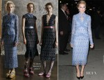 Allison Williams In Erdem - Late Show with Stephen Colbert
