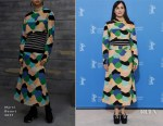 Amira Casar In Marni - 'Call Me by Your Name' Berlin Film Festival Photocall