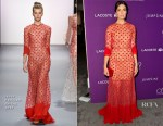 Mandy Moore In Jenny Packham - 19th Costume Designers Guild Awards