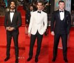 2017 BAFTAs Men Red Carpet Roundup