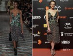 Aura Garrido In Christian Dior - Malaga Film Festival Presentation Cocktail