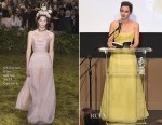 Emma Watson In Christian Dior Couture - NY Film Society For Kids